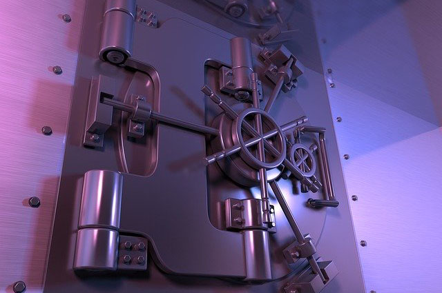 Image of the bank vault